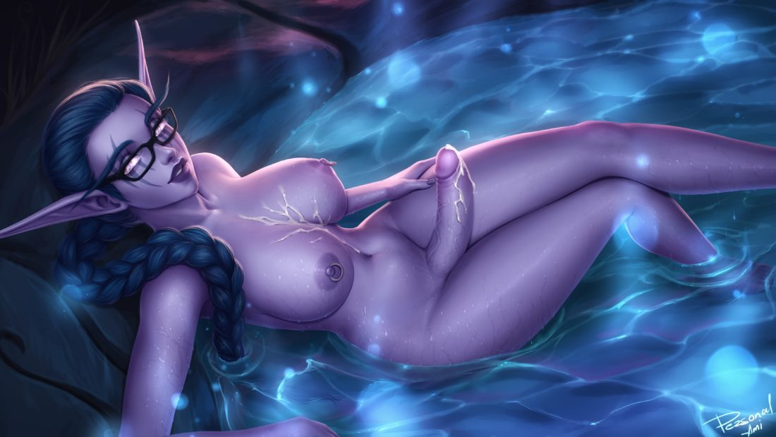 Personalami - Futa night elf Serrah world of warcraft
