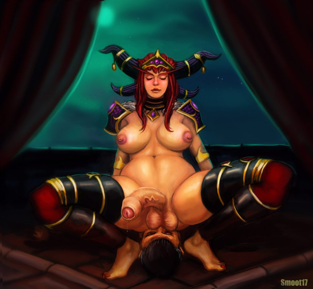 Smoot17 - world of warcraft alexstrasza futa on male