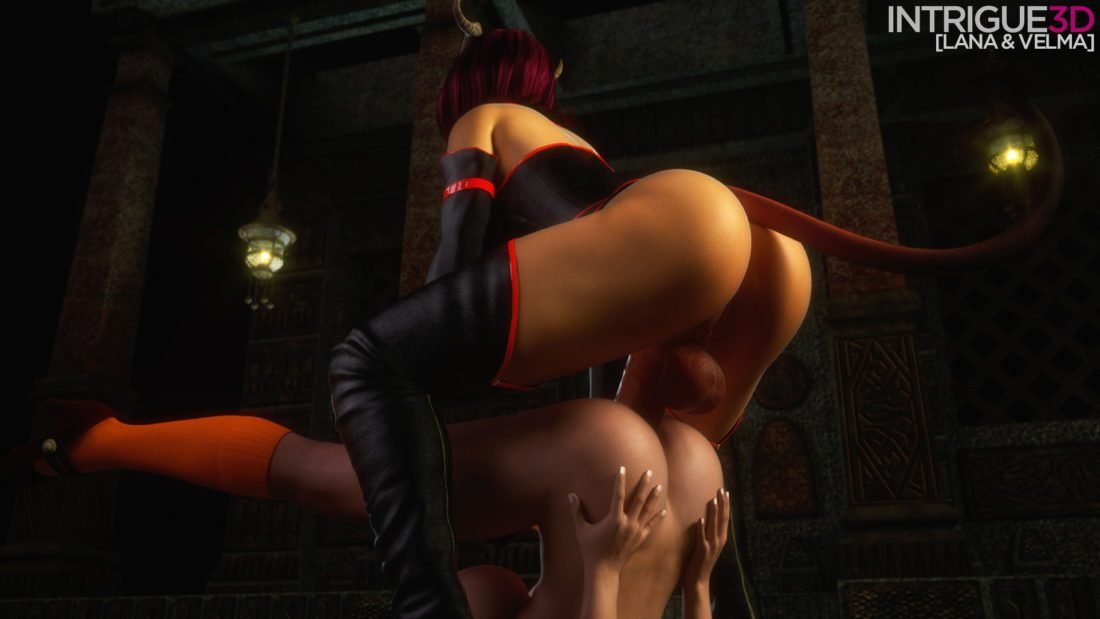 Intrigue - Futanari Velma Dinkley Scooby-doo rule 34 porn