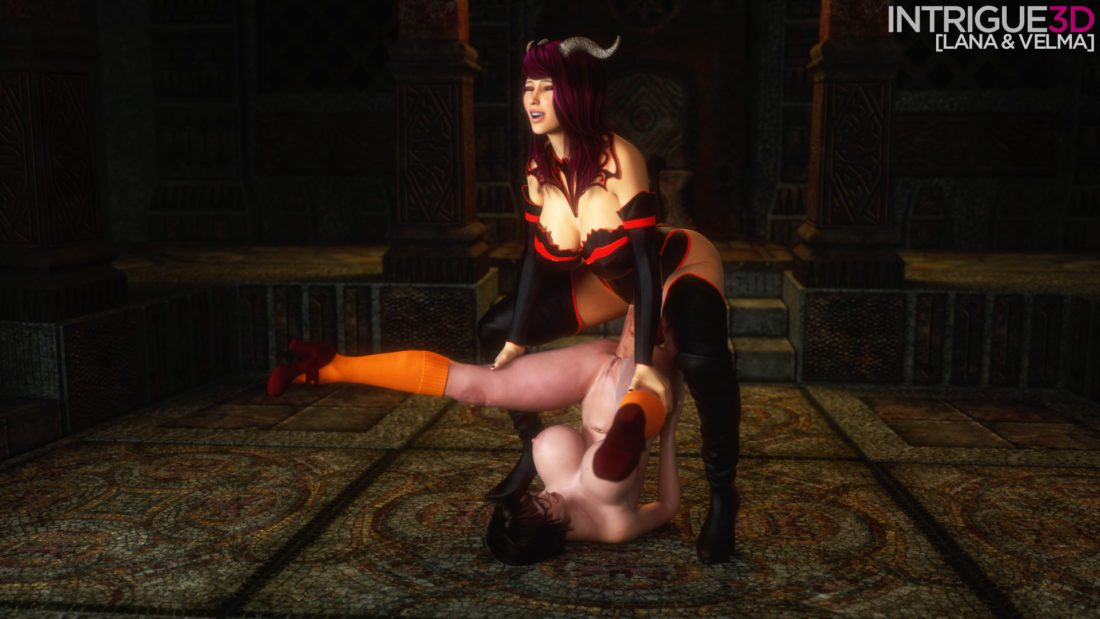 Intrigue - Futanari Velma Dinkley Scooby-doo rule 34 porn 2