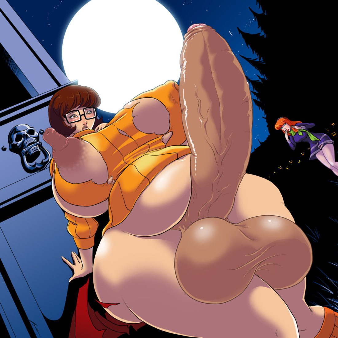 Jacques00 - Futanari Velma Dinkley Scooby-doo rule 34 porn