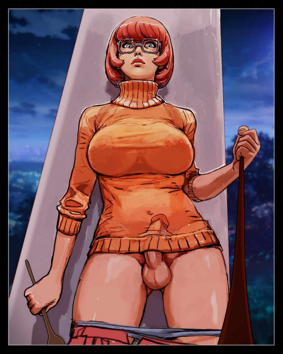 Jjfrenchie - Futanari Velma Dinkley Scooby-doo rule 34 porn