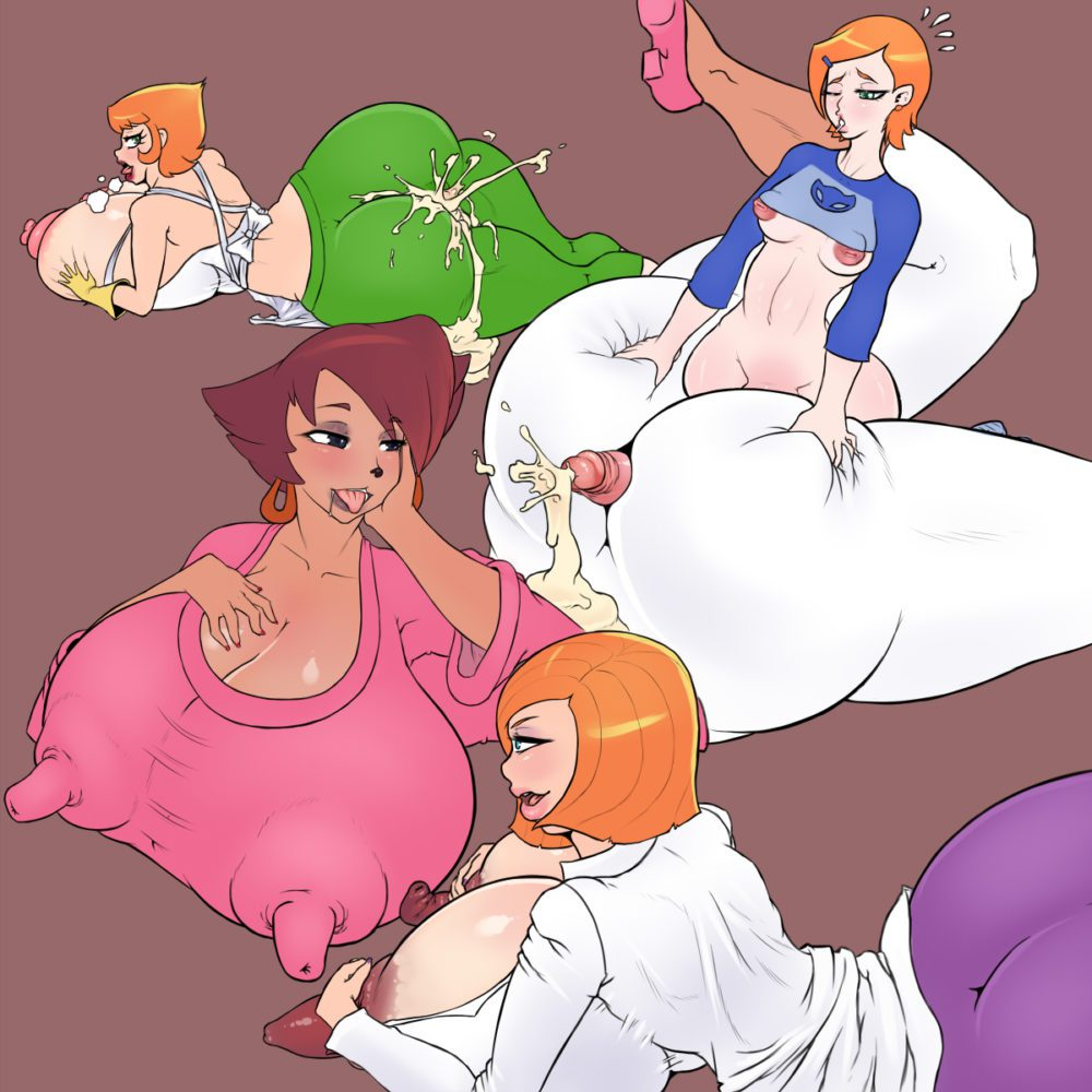 Yoh-sl - Futa Dexters Mom Ann Possible Gwen tennyson Peg Pete