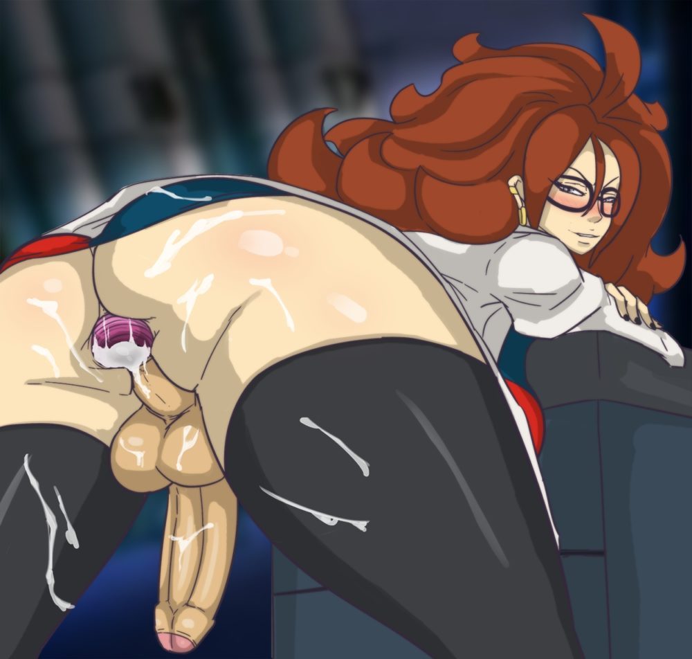 Acid Demo - Futanari Android 21 Dragon Ball porn hentai