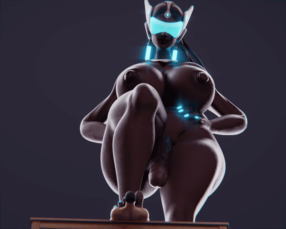 Endless Illusion - Futanari Symmetra Overwatch porn