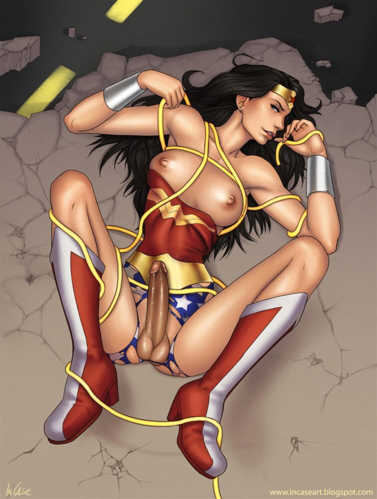 Incase - Futanari Wonder Woman porn