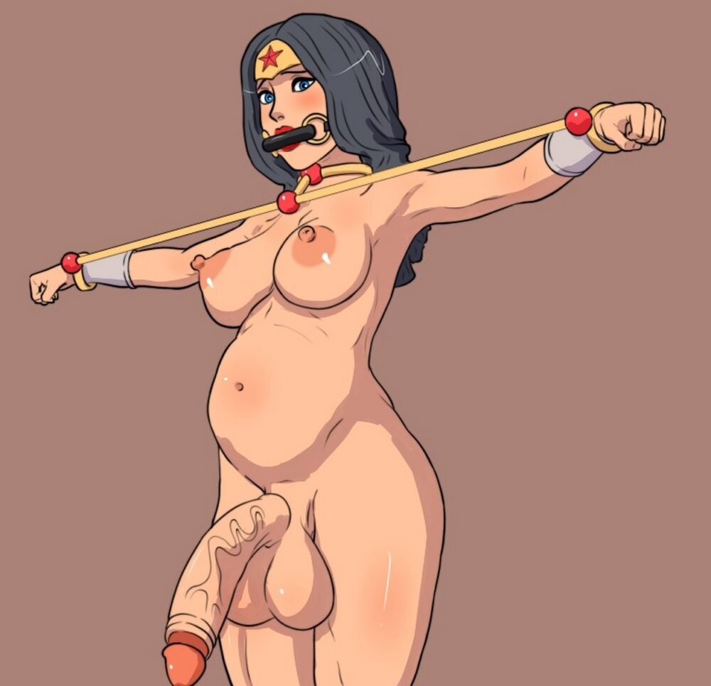 Sen-kg - Futanari Wonder Woman rule 34