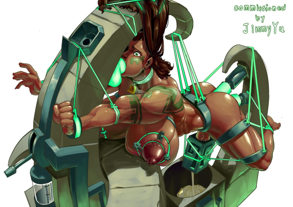 Muscular futa Illaoi league of legends porn