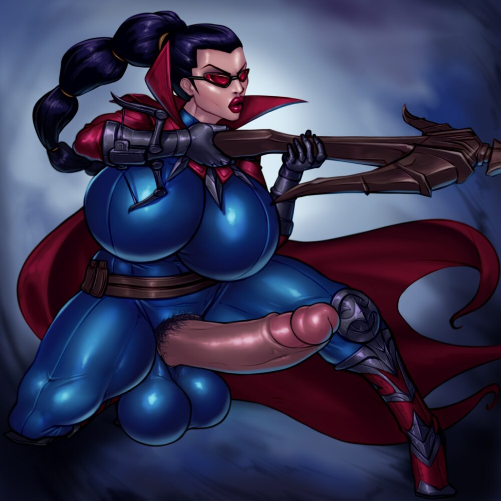 Rampage0118 - Futanari Vayne league of legends porn