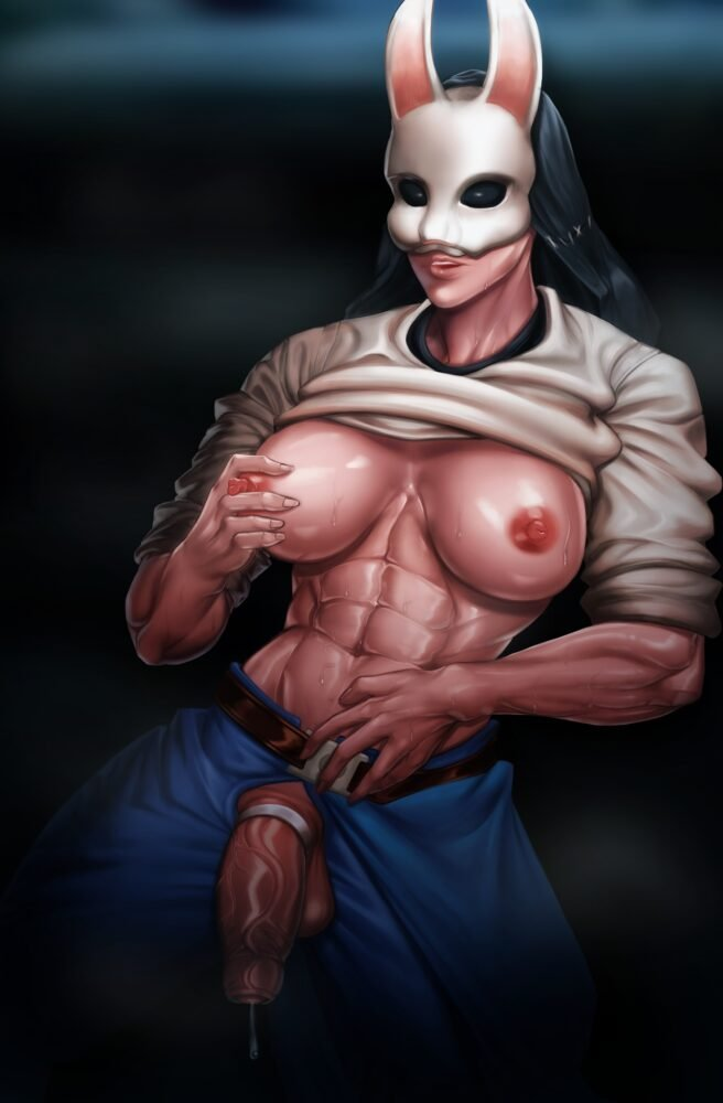 Bighamma - Futa Huntress dead by daylight porn 1
