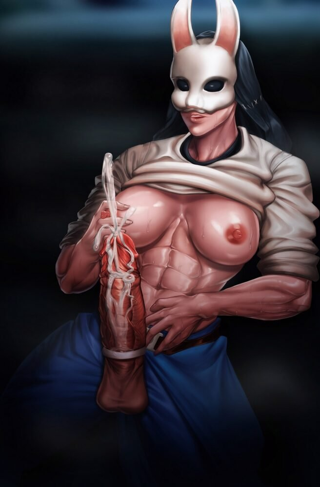Bighamma - Futa Huntress dead by daylight porn 2