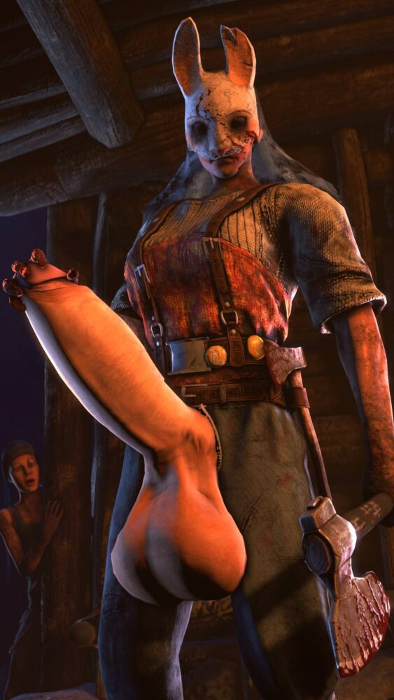 Futa Huntress dead by daylight porn