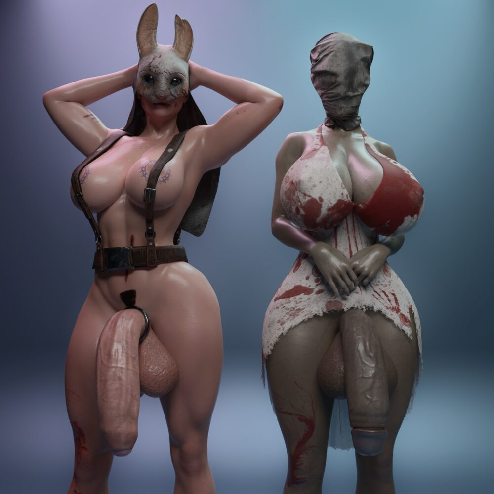 Icedev - Futa Huntress Nurse dead by daylight porn