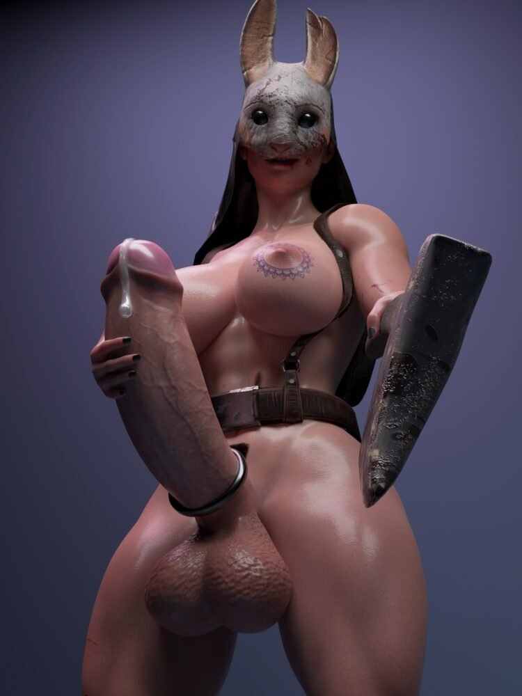 Icedev - Futa Huntress dead by daylight porn 2