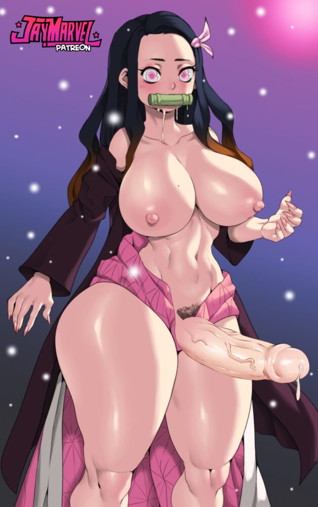 Jay-marvel - Futanari Nezuko demon slayer porn
