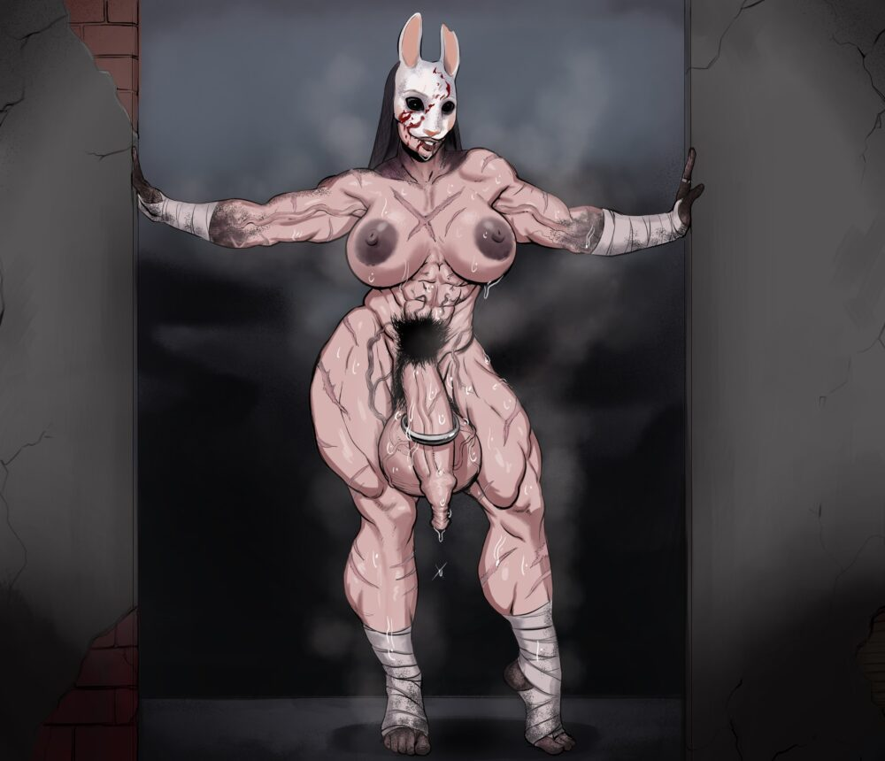 Sawacoe - Futa Huntress dead by daylight porn 1