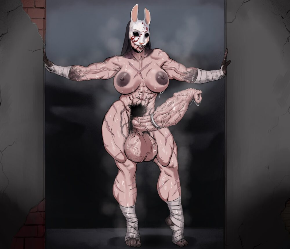 Sawacoe - Futa Huntress dead by daylight porn 2