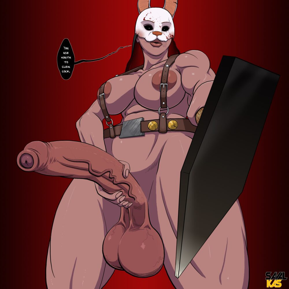 Sawalkas - Futa Huntress dead by daylight porn