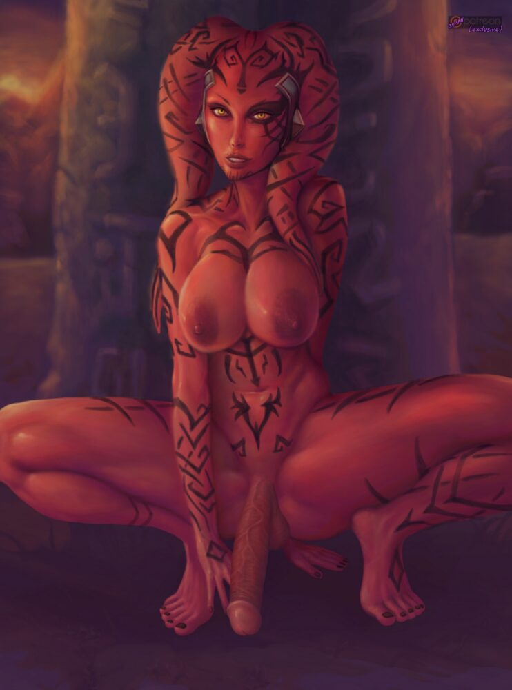 34-san - Futa Darth Talon twilek star wars porn