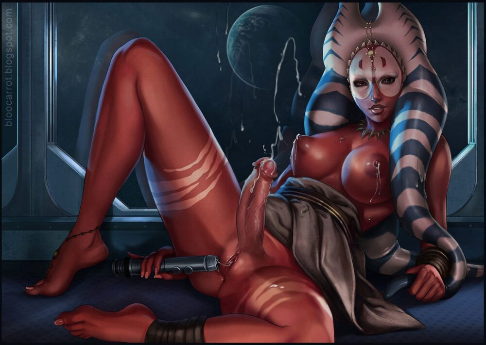 Bloocarrot - Futa Shaak Ti togruta star wars porn 2