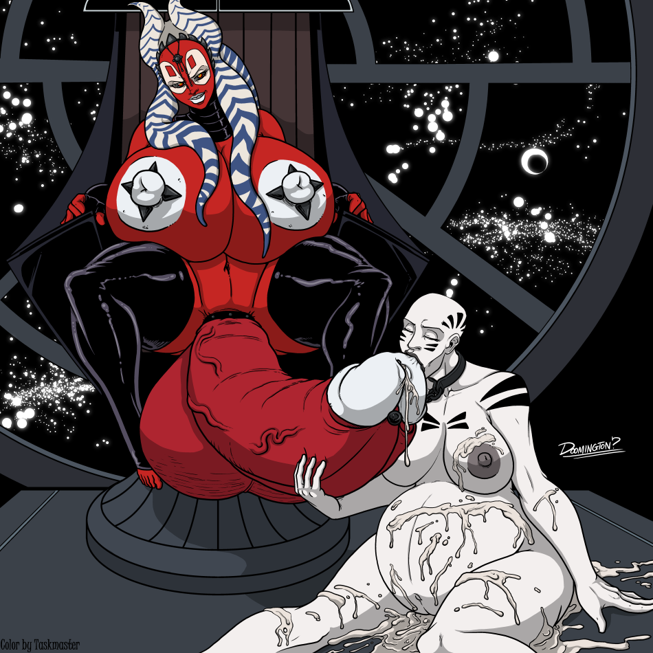 Doomington - Futa Shaak Ti Asajj Ventress stars wars comic 3