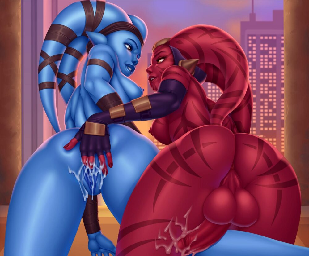 Maplemoon - Futa Aayla Secura Darth Talon twilek star wars legacy porn