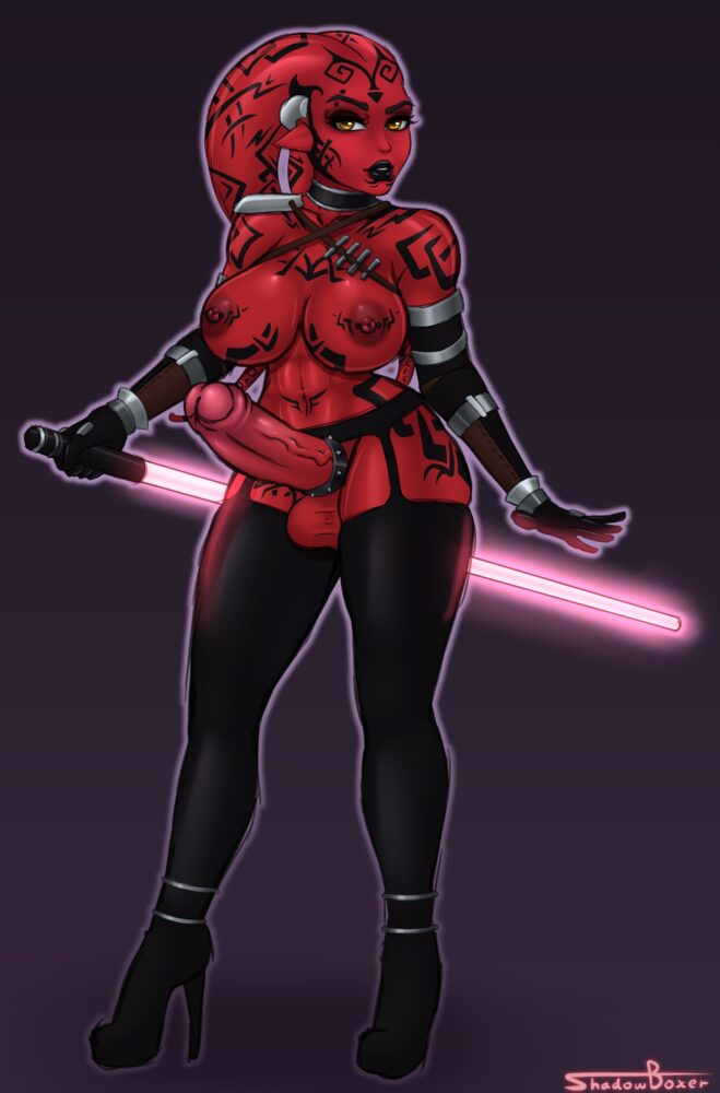 Shadowboxer - Futa Darth Talon twilek star wars porn