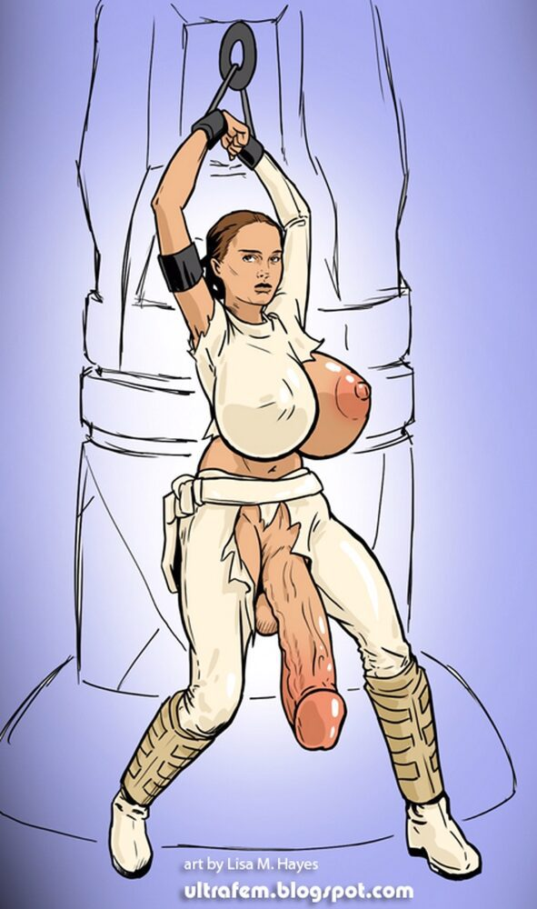 Ultrafem - Futa Padme futa on male star wars porn 0
