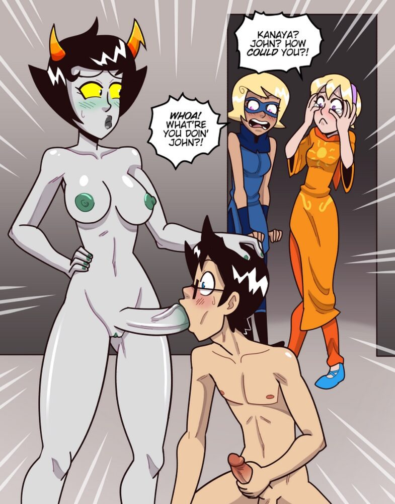 Shamefuldisplay - Futa on male Kanaya Maryam John Egbert